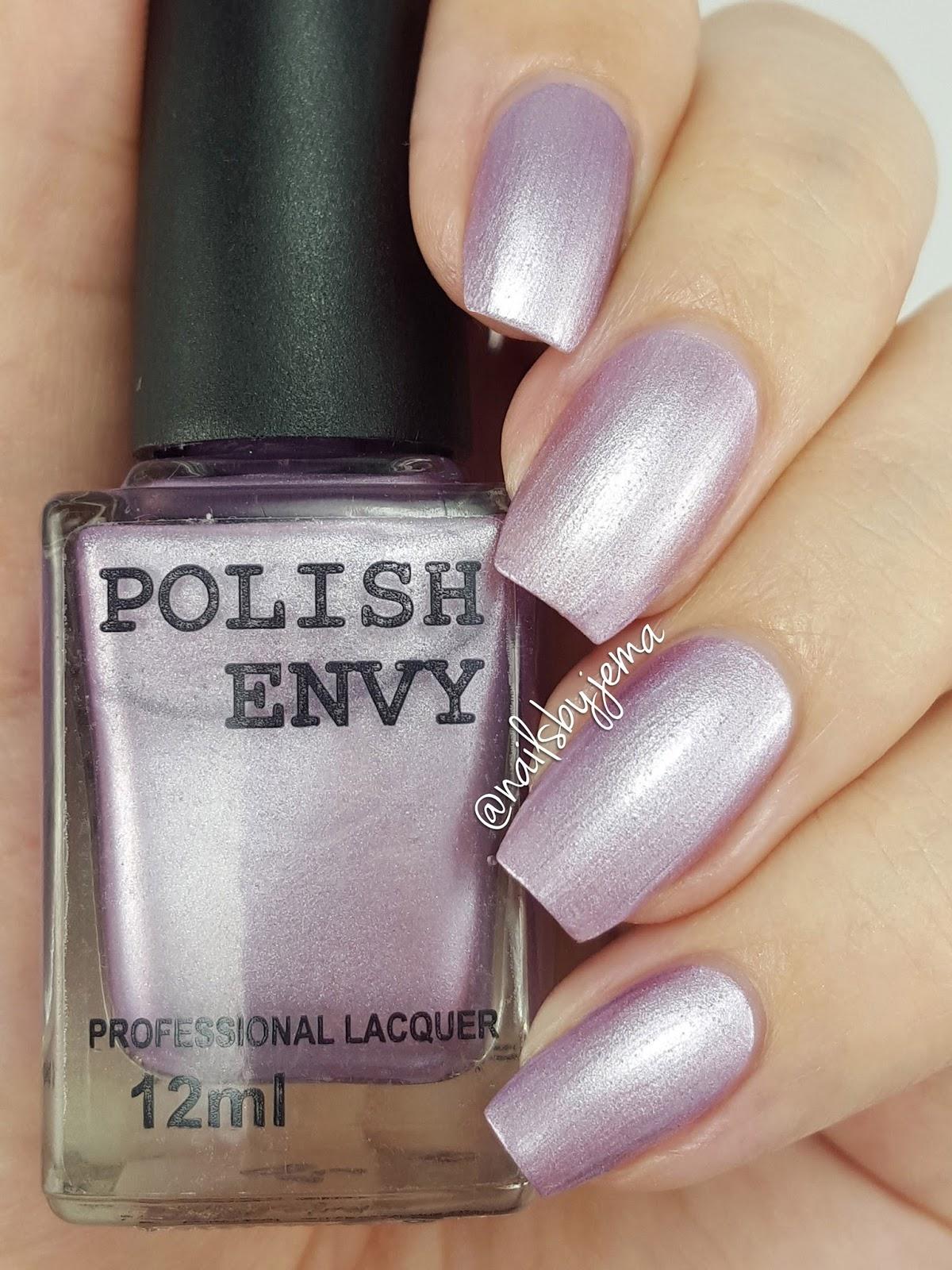 N A I L S B Y J E M A: Polish Envy Swatches & Review!