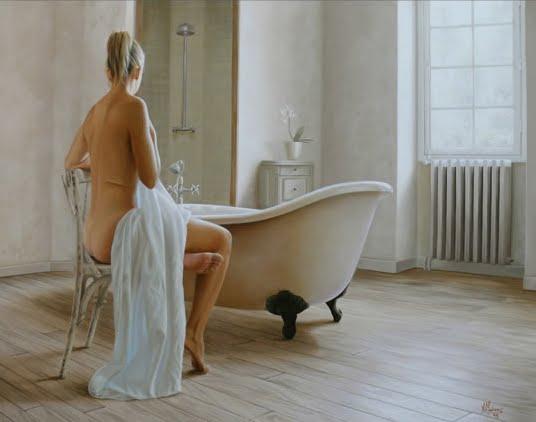 Wonderful Figurative Paintings By Alexandre Monntoya