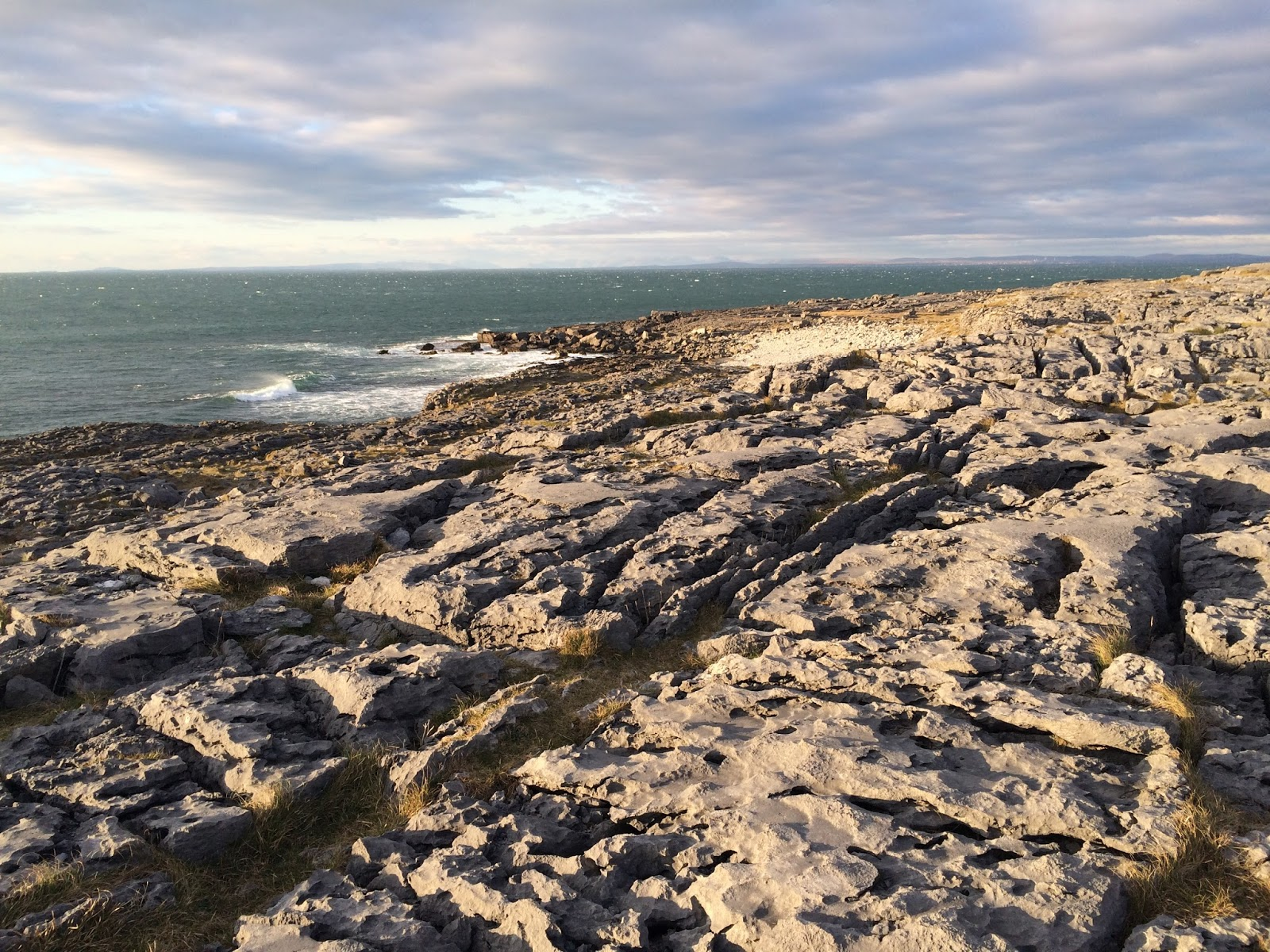 Coast in The Burren, Ireland