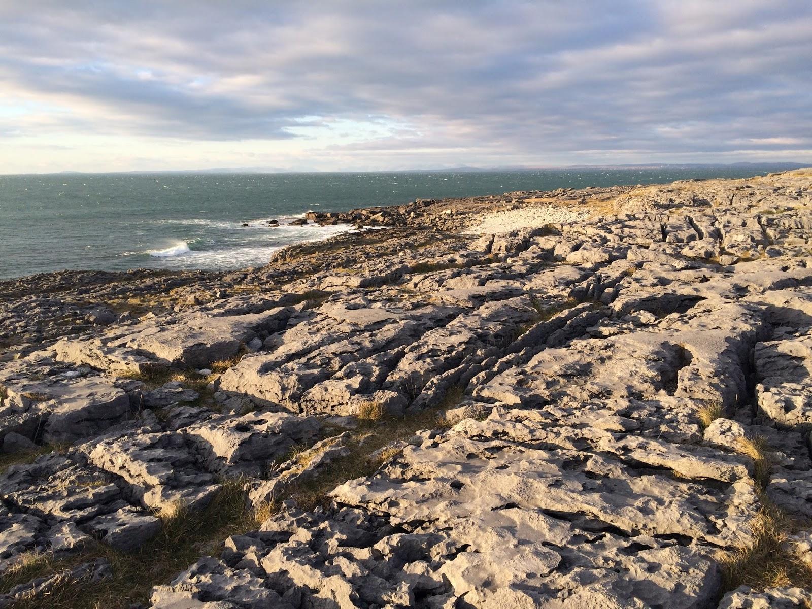 Coast in The Burren, Ireland