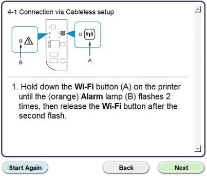 Configurazione della connessione wireless ... - Canon Italia