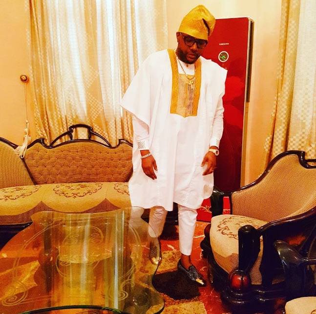 Thank God for today - E-money says as billionaire flaunts expensive parlour