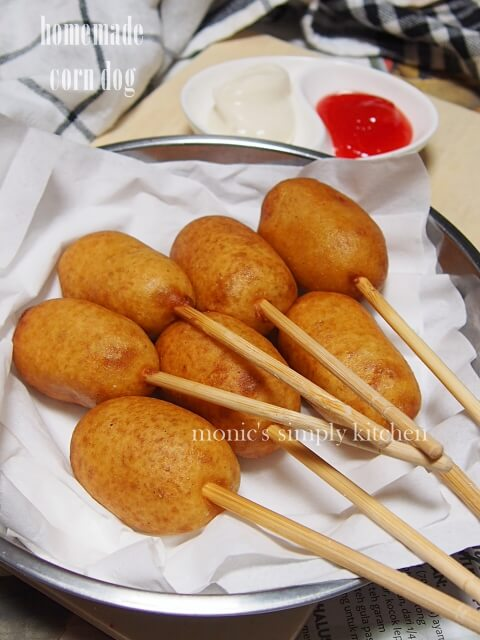 resep mini corn dog