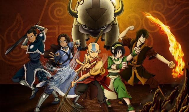 Anime Terpopuler Sepanjang Musim - Avatar The Last Air Bender