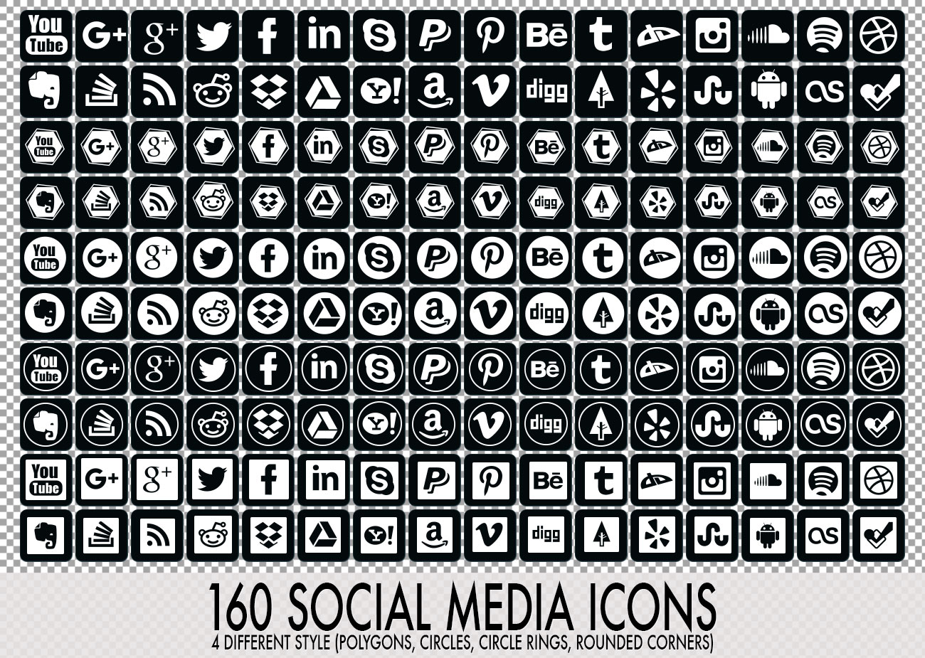 16 Water Drops Photoshop & Vector Shapes (CSH, SVG ...