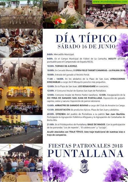 Puntallana, Día Típico de las Fiestas Patronales 2018