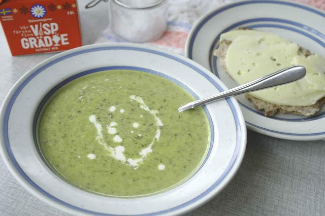 Krämig svartkålssoppa