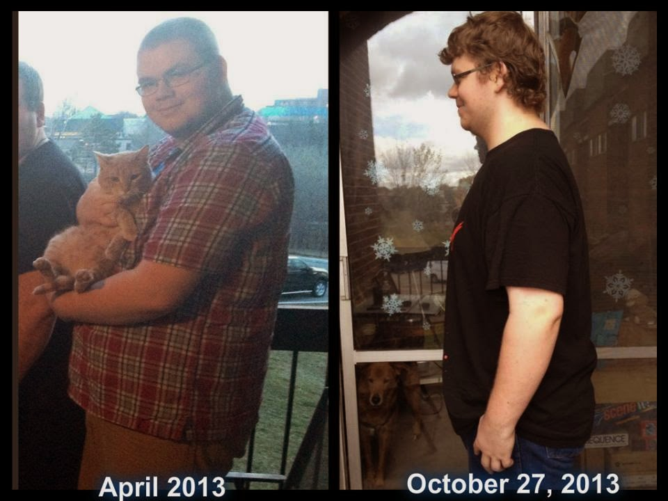 Adam's weight loss results. Men take Skinny Fiber, too!