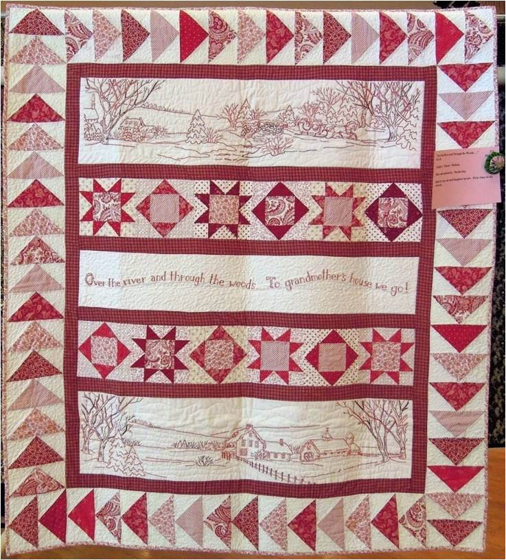 Quilt Inspiration: River City Quilt Guild - Day 4 ('Tis the Season!) : crabapple quilts - Adamdwight.com