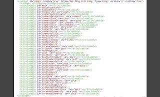 Hướng dẫn thiết kế bài viết trong tiện ích widget Blog1 version 2