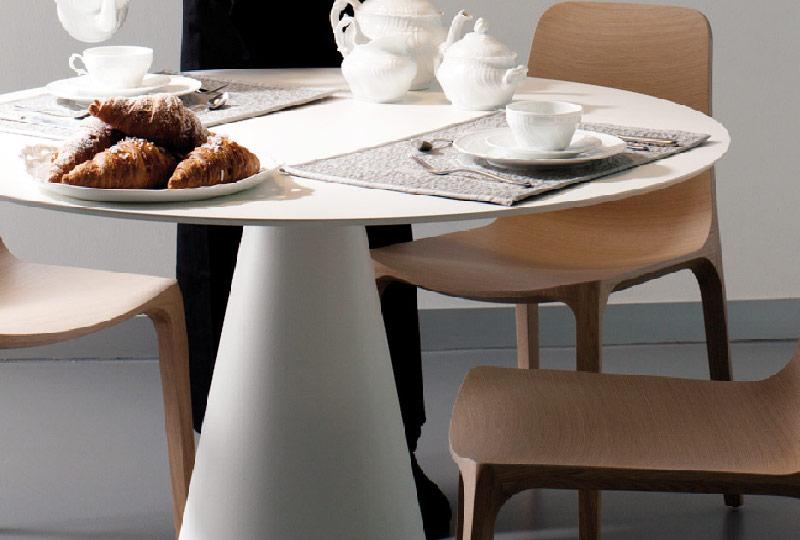 tavolo rotondo moderno per 4 persone