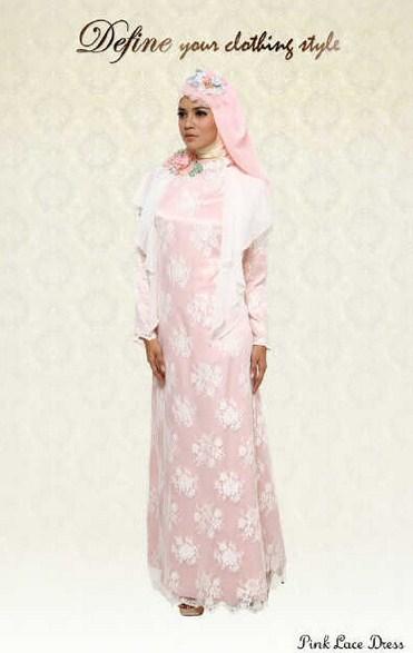 Model Baju Muslim Kebaya Untuk Lebaran Terbaru