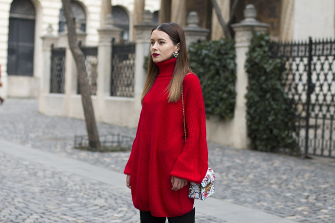 adina nanes how to wear a sweater dress