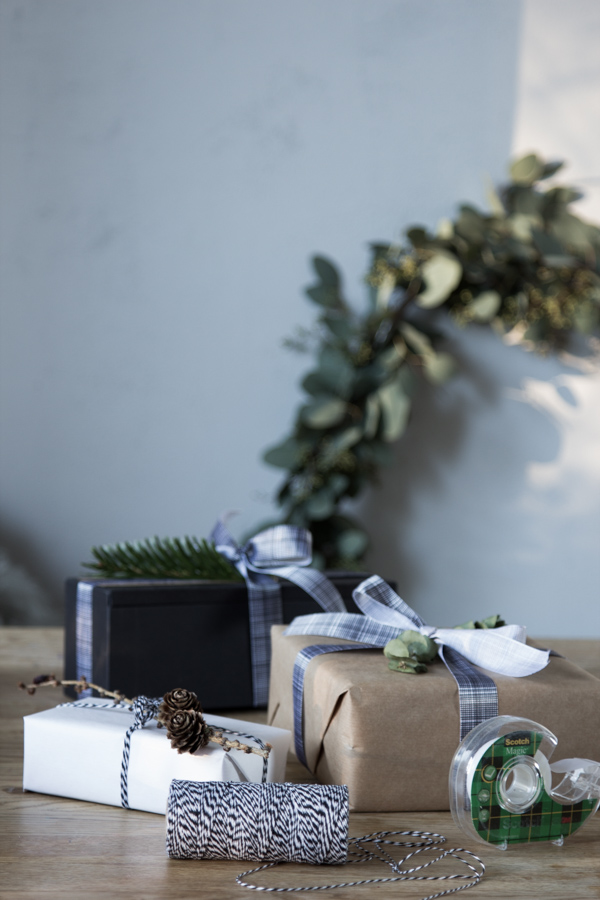 The  Scotch? Brand Tape gift wrapping challenge