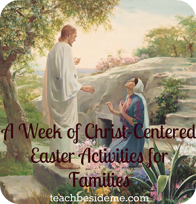 A Week Of Christ Centered Easter Activities For Families