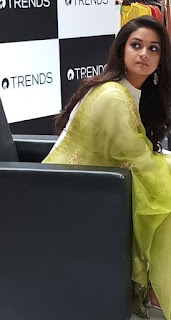 Keerthy Suresh with Cute Smile at Reliance Trends 1