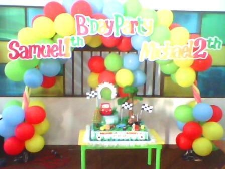 dekorasi ulang tahun surabaya: produc dekorasi