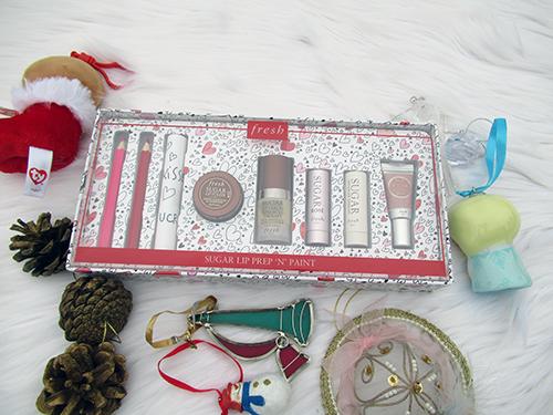 Fresh Holiday Gift Set Sugar Lip Prep N Paint set