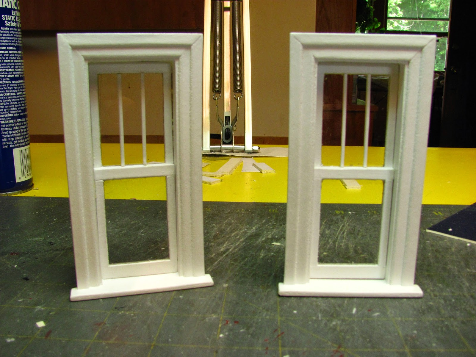 How To Make A 1 Inch Scale Dollhouse Window From Mat Board What S