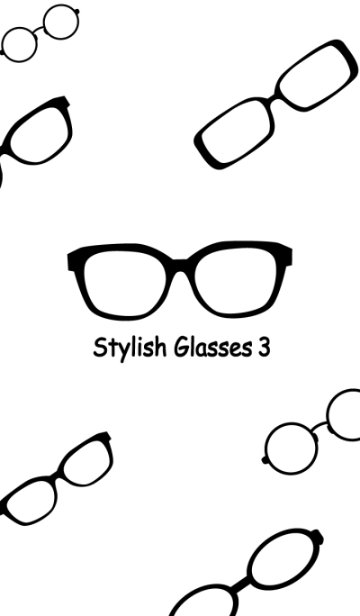 Stylish glasses3!