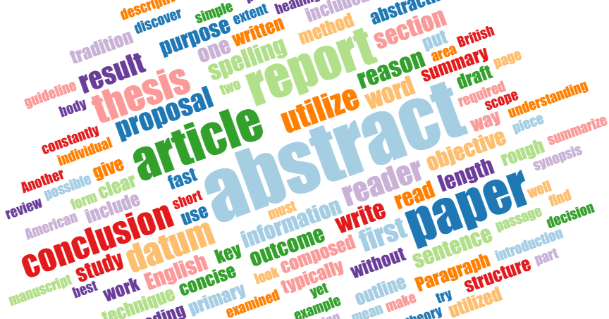 english research paper abstract A research paper abstract is an organized and a short summary of an in-depth discussion in any of the academic disciplines the etymology of the word (abs trahere' = bring away or derive from) suggests that, more than just a summary, the essence of the abstracted article should be contained in the work.