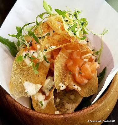 Soto Austin fish + chips