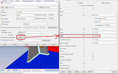 create weld in tekla