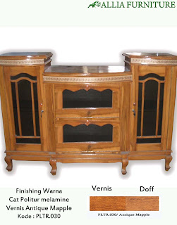 Contoh Furniture Politure Antique Mapple