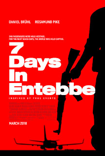 7 DAY IN ENTEBBE movie poster
