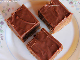 Simple Frosted Brownies