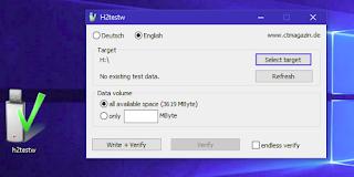 برنامج لفحص الكارت الميمورى على جهاز الكمبيوتر