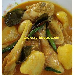 Resepi Kari Ayam Minang Asli