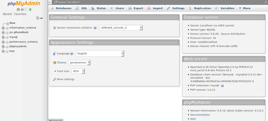 Gambar 2 - Tutorial Database dengan PhpMyAdmin