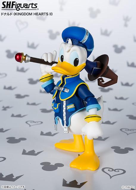 "S.H.Figuarts Donald Duck de ""Kingdom Hearts II"" - Tamashii Nations"