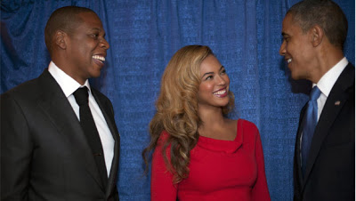 Did Obama accidentally reveal the gender of Jay Z and Beyonce's twins?