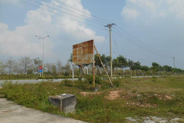 Quang cảnh khu đất tại Khu công nghiệp Sóng Thần 3