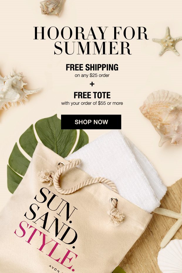 Avon Free Gift with Purchase July 2016