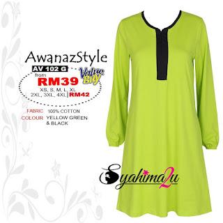 Baju_Muslimah_Awanazstyle-AV102G