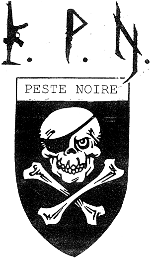 logo kpn peste noire black metal de france