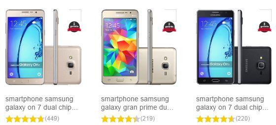 Promoção Smartphone Samsung Galaxy nas Lojas Americanas