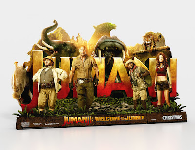 Jumanji: Welcome to the Jungle Banner Poster 1