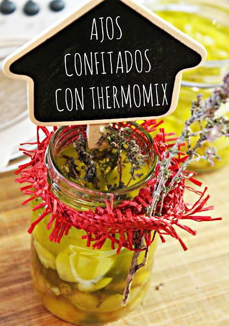AJOS CONFITADOS CON THERMOMIX