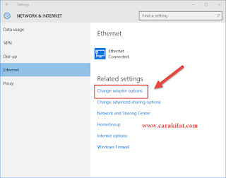 Cara Setting IP Address Windows 10