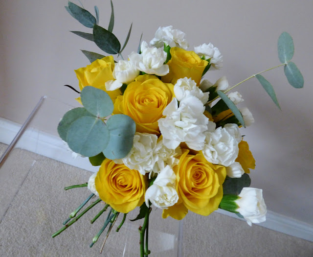 Hand Tied Flower Posy Arrangement