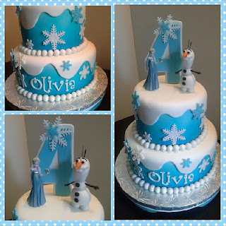 kue ulang tahun anak perempuan frozen