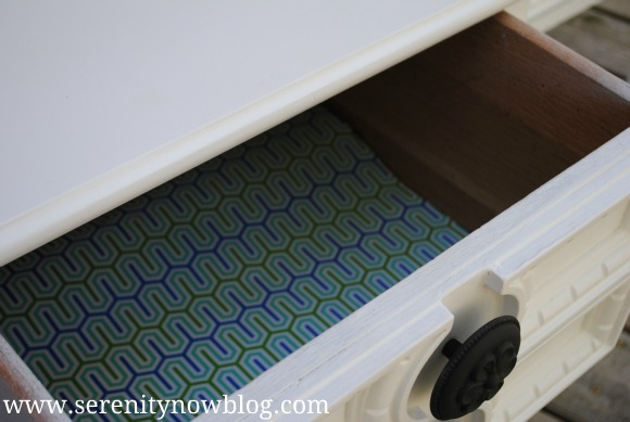 DIY Wrapping Paper Drawer Liner Serenity Now blog