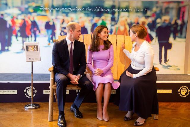 Kate i William na pierwszym globalnym ministerialnym szczycie zdrowia psychicznego