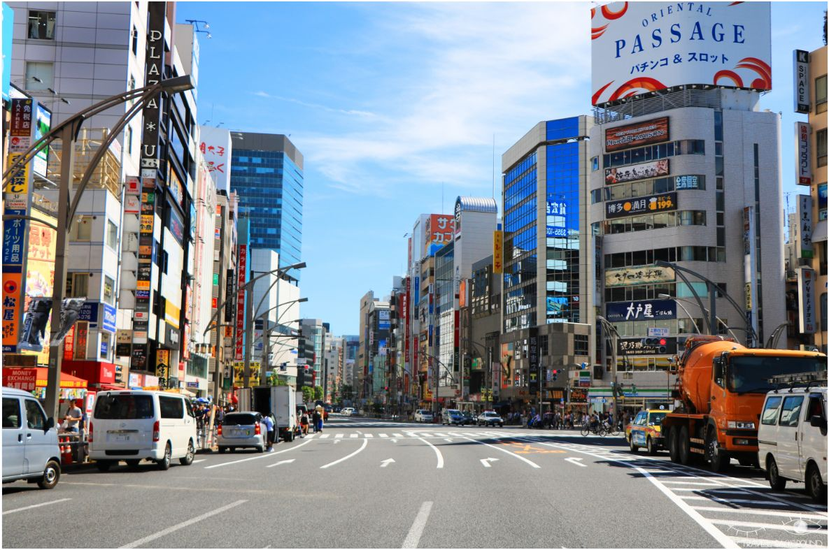 My Travel Background : cartes postales du Japon - Ueno, Tokyo
