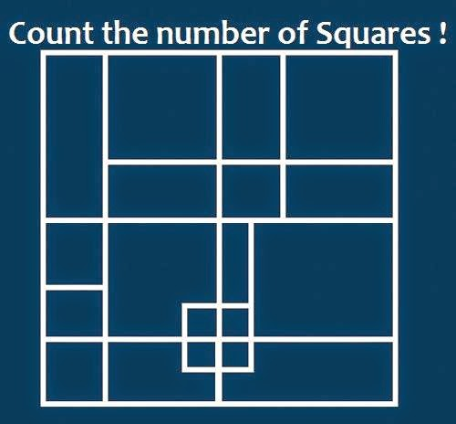 How Many Squares in this Picture?