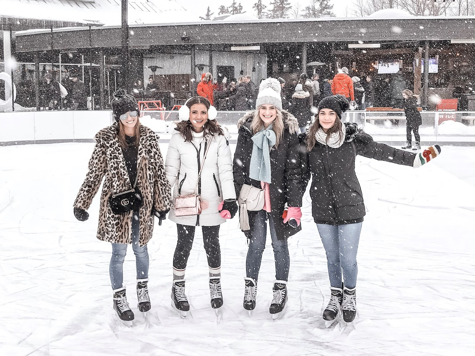 Bijuleni | How To Unwind at White Oaks Resort & Spa | Girls skating in style